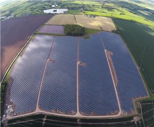 Six Hills Solar Park