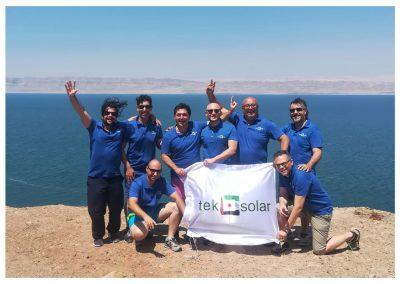 Tek Solar Team Building