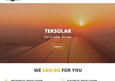 Tek Solar New Website