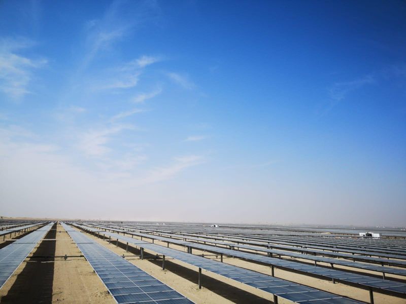Al Maktoum Solar Park Phase III Plot C