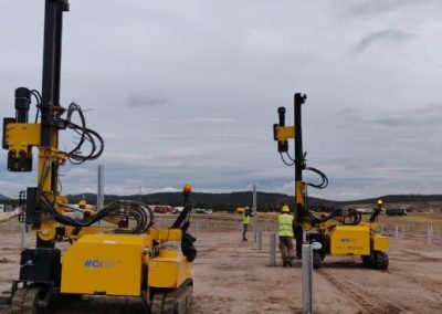 TekSolar_Ceclavin Solar Plant_Pile drivers Tonker 830