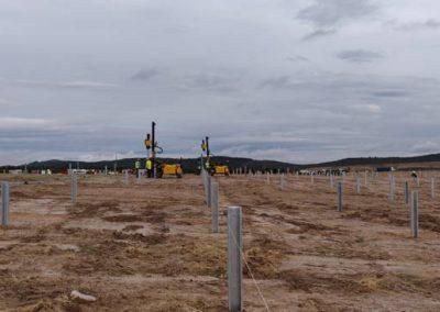 TekSolar_Ceclavin Solar Plant_Piling with Tonker 830