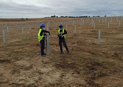 TekSolar_Ceclavin Solar Plant_Piling Check