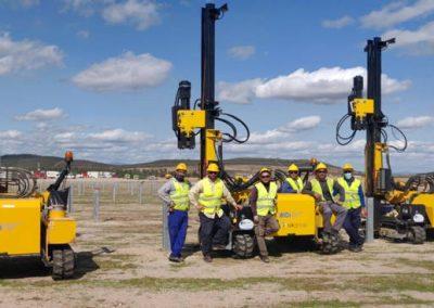 TekSolar_Ceclavin Solar Plant_Piling Team