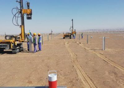 TekSolar_Ibri Solar Plant_Piling