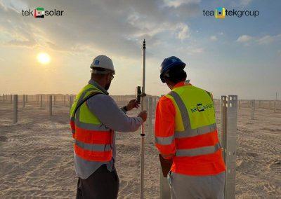 Tek Solar_Al Maktoum Solar Park Phase V Plot A_Piling Works